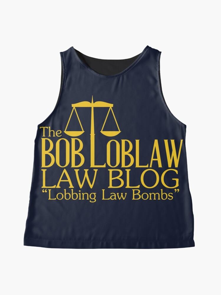 Alternative Ansicht von Der Bob Loblaw Low Blog Ärmelloses Top