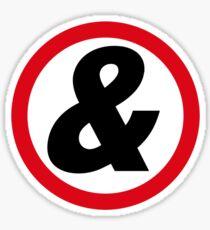 rune tee nine Sticker