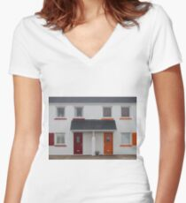 Reflect Women's Fitted V-Neck T-Shirt