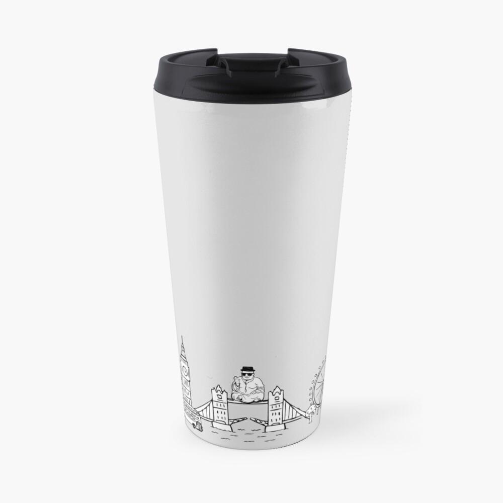 The Mindful Delinquent Travel Mug Travel Mug