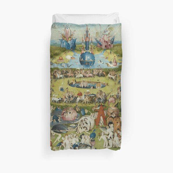 The Garden of Earthly Delights - Hieronymus Bosch Duvet Cover