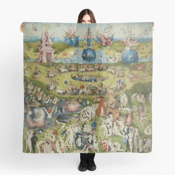 The Garden of Earthly Delights - Hieronymus Bosch Scarf