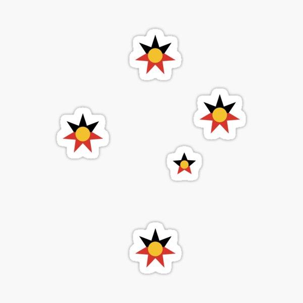 Aboriginal Southern Cross Sticker