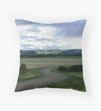 Curvacious Throw Pillow