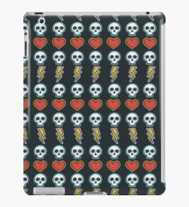 Rock Skull Pattern iPad Case/Skin