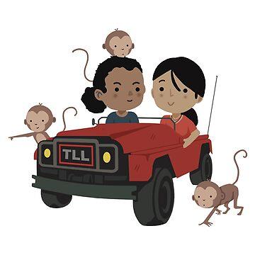 Chloe & Nadine - Car by allmyinhibition
