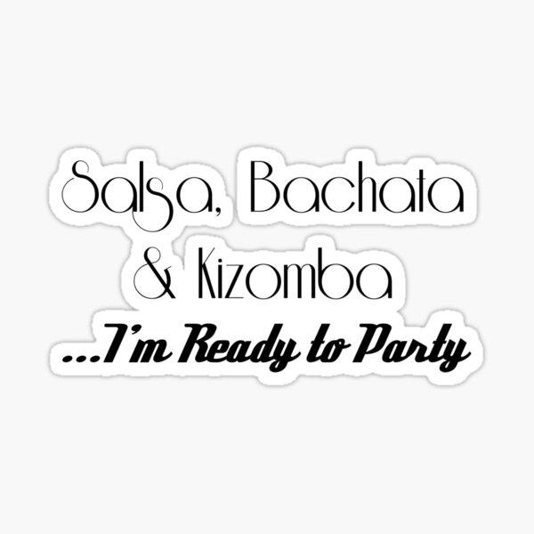Salsa Bachata Kizomba SBK Sticker