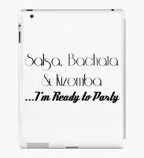 Salsa Bachata Kizomba SBK iPad Case/Skin