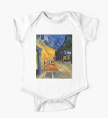 Cafe Terrace at Night - Vincent Van Gogh One Piece - Short Sleeve