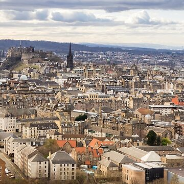 Edinburgh Cityscape by ansaharju