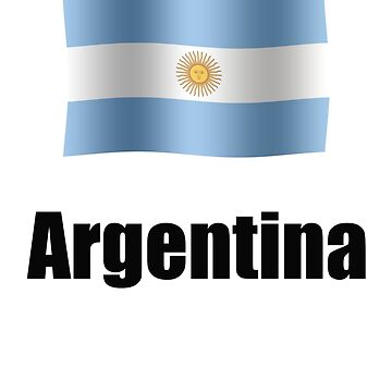 Argentinian flag by stuwdamdorp