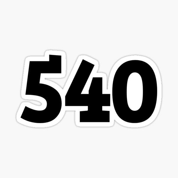 540 Sticker