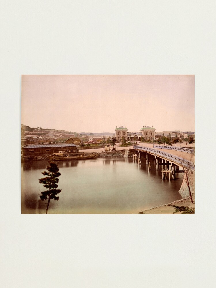 Alternate view of Yokohama Railway Station Photographic Print