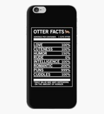 Otter Facts Funny Otter Lover T-shirt iPhone Case