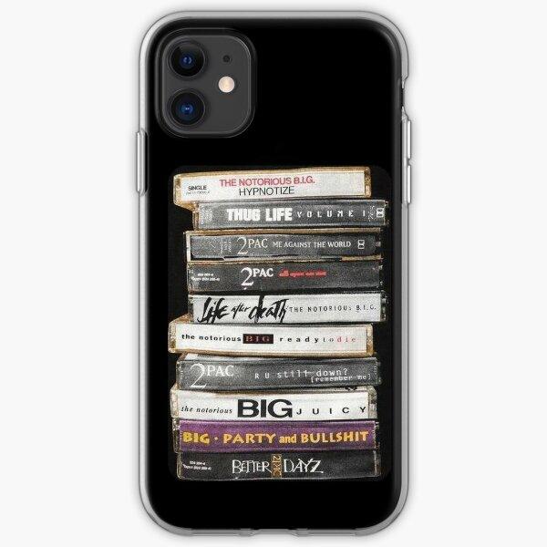 Hip Hop Tapes iPhone Soft Case