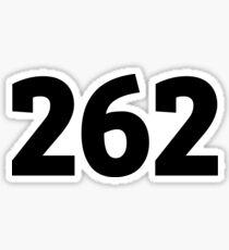 262 Sticker