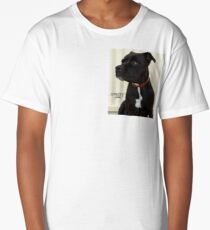 Staffy Dog Long T-Shirt
