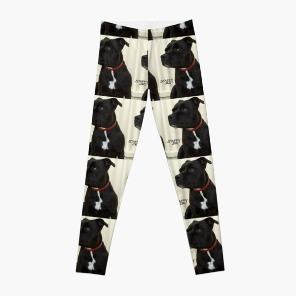 Staffy Dog Leggings