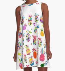 Pineapple A-Line Dress