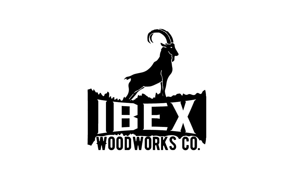 Ibex Woodworks Co - Black Logo by Ibex Woodworks Co