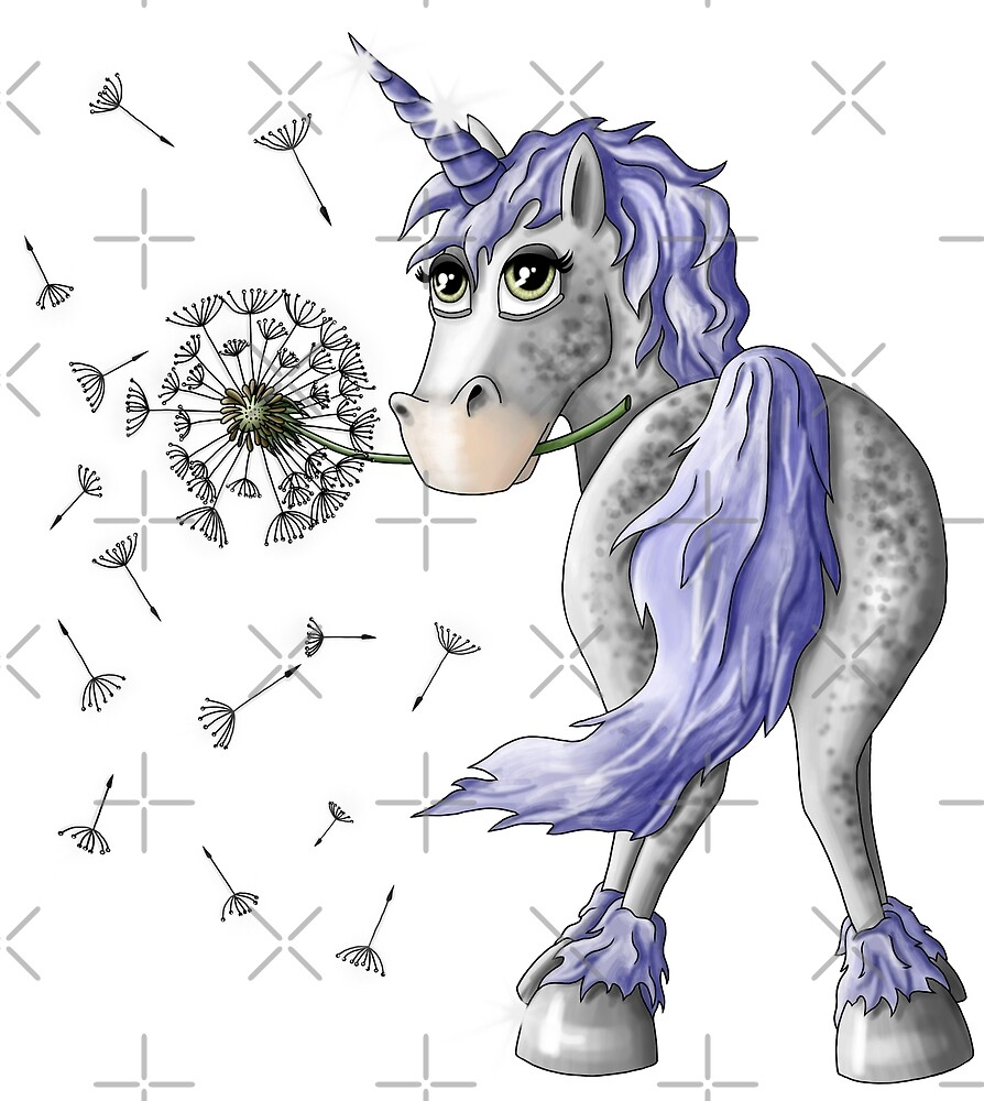 Unicorn Dandelion by ARTemyzz