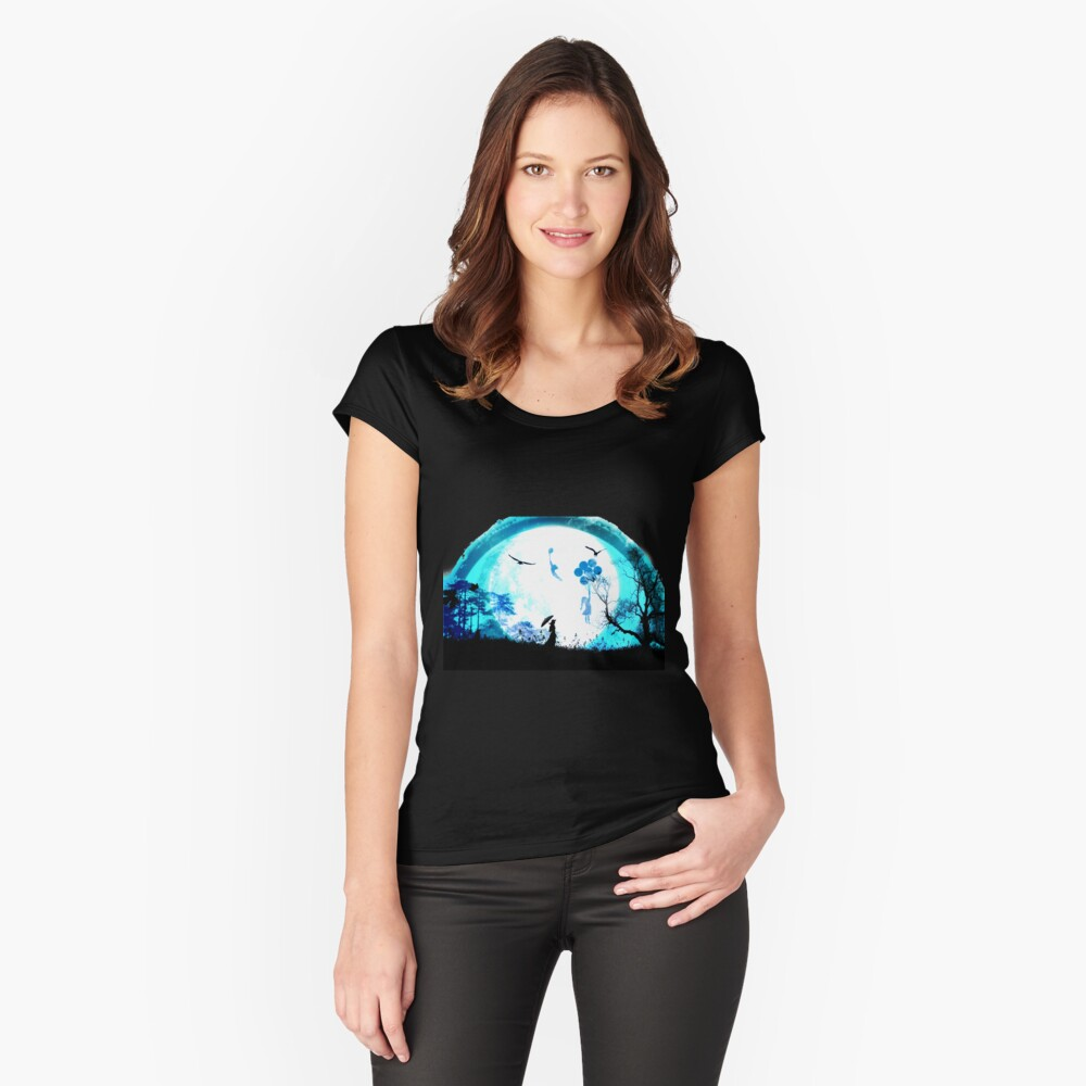 Perfect Night Fitted Scoop T-Shirt