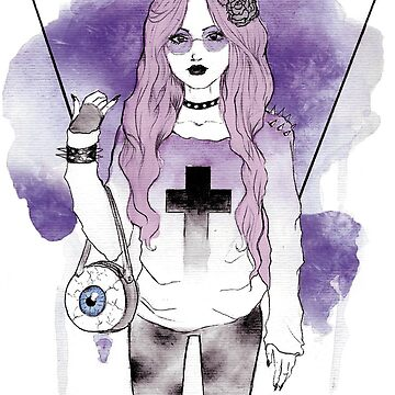 Pastel goth by Nitha-ire