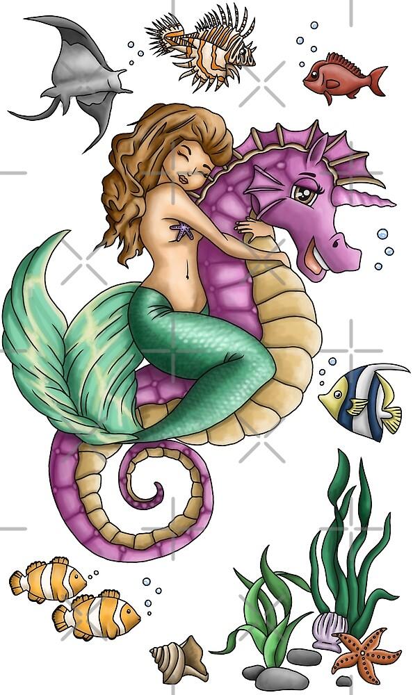 Mermaid Emily by ARTemyzz