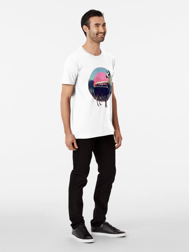 Alternate view of Llama Premium T-Shirt