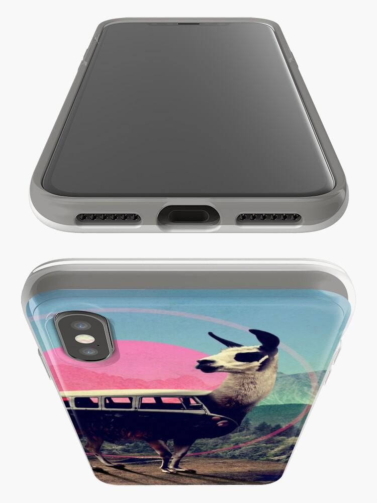Alternate view of Llama iPhone Case & Cover
