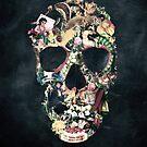 Vintage Skull by Ali Gulec