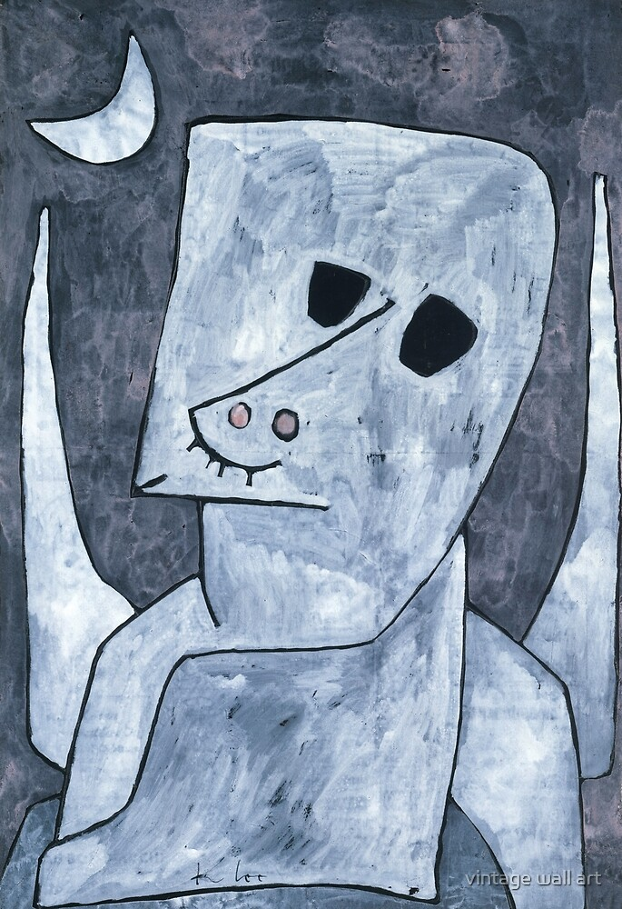 Paul Klee, Angel Applicant, 1939 by fineearth