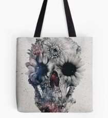 Floral Skull 2 Tote Bag