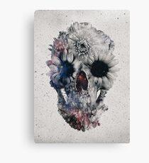 Floral Skull 2 Canvas Print