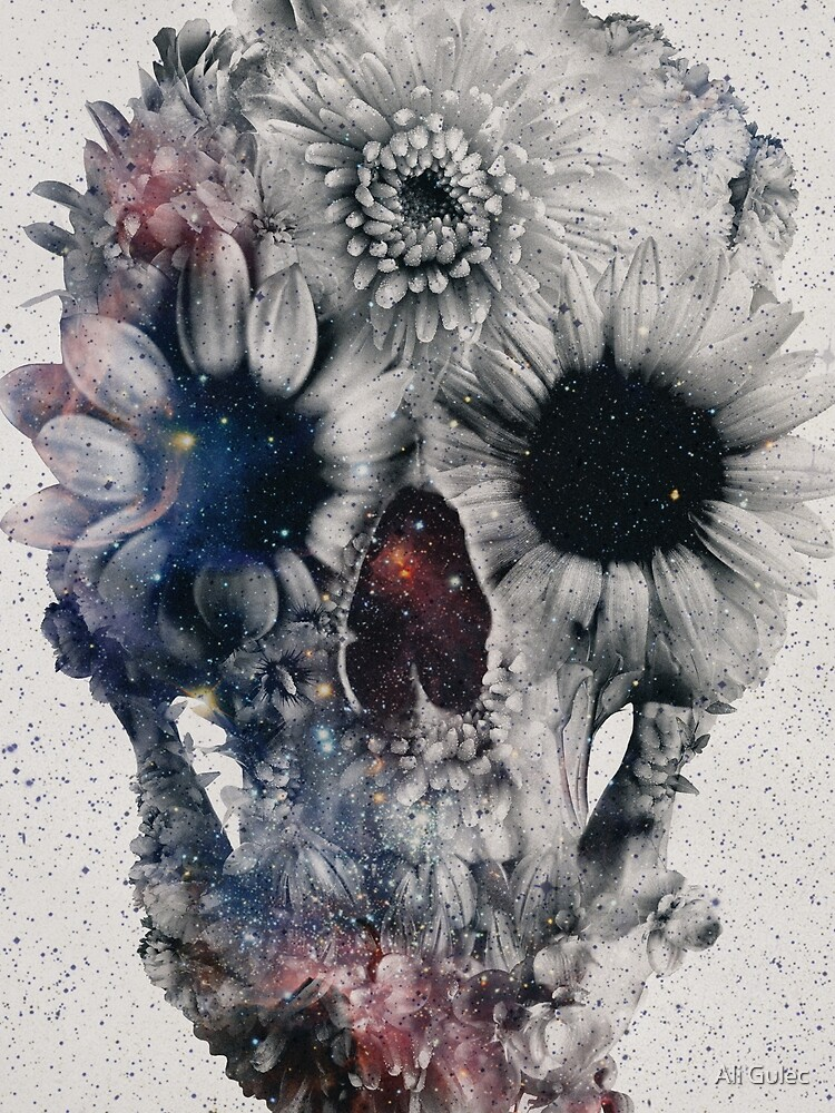 Floral Skull 2 by aligulec