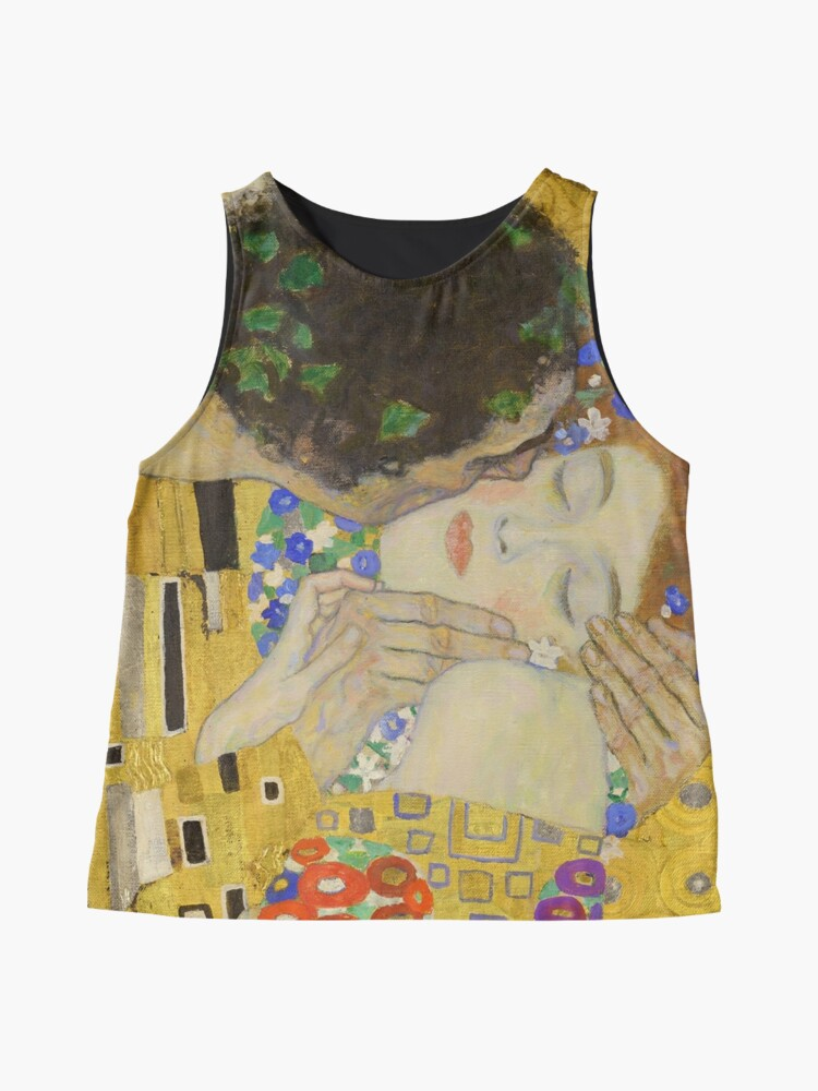 Alternate view of The Kiss - Gustav Klimt Sleeveless Top
