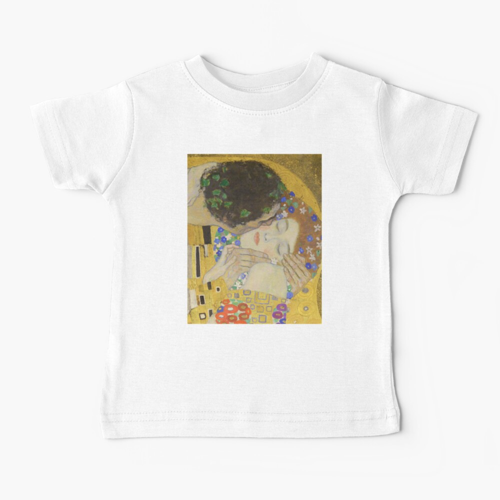 The Kiss - Gustav Klimt Baby T-Shirt