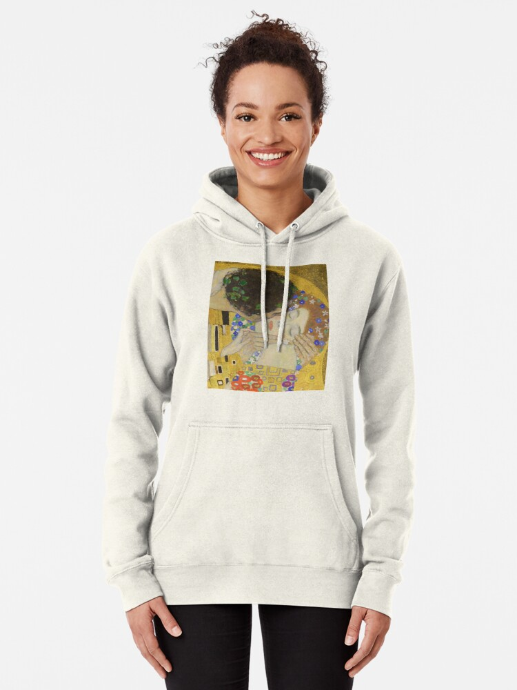 Alternate view of The Kiss - Gustav Klimt Pullover Hoodie