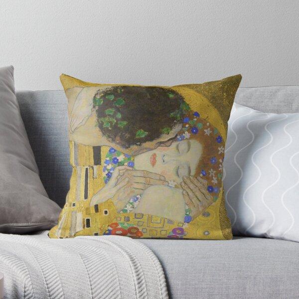Le baiser - Gustav Klimt Coussin