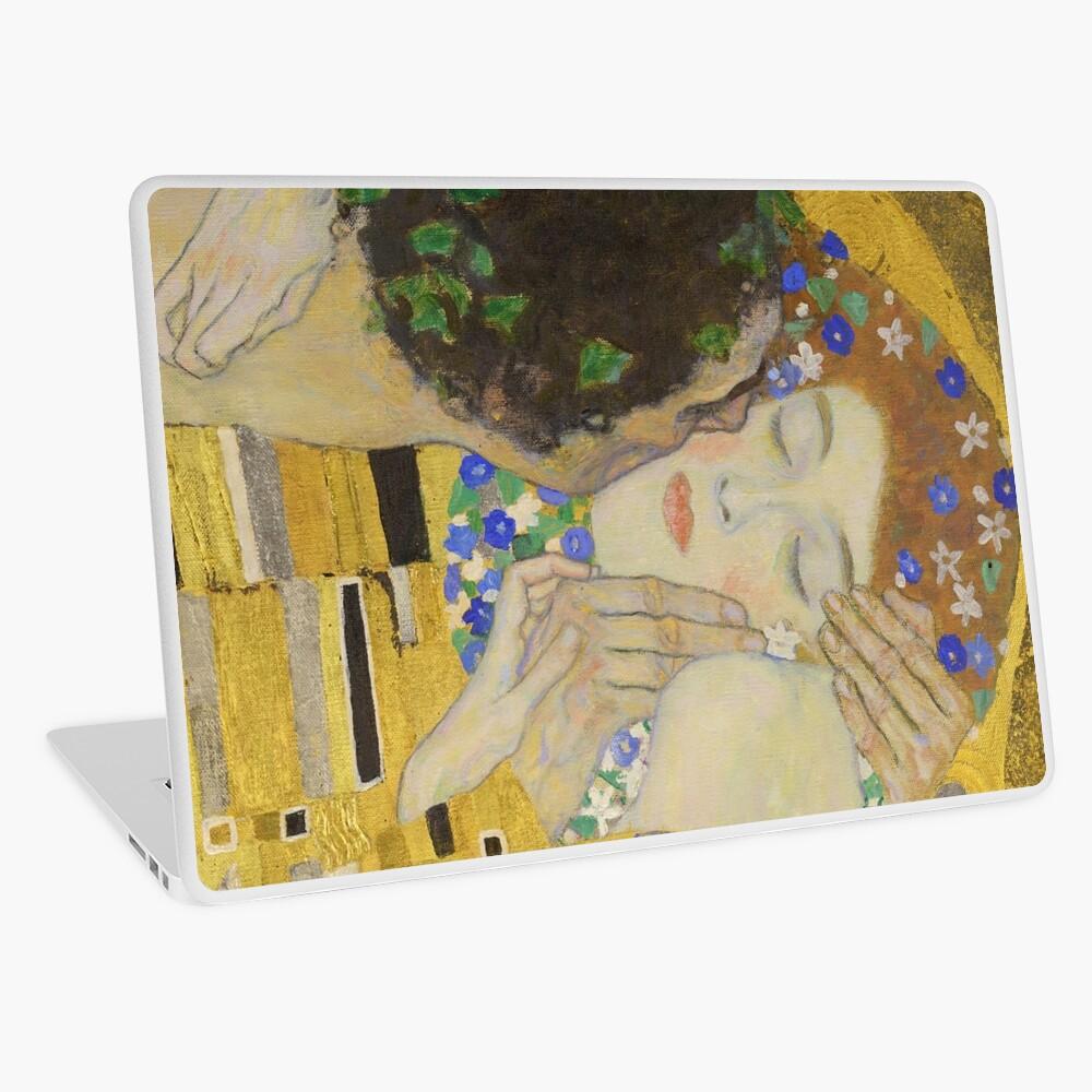 The Kiss - Gustav Klimt Laptop Skin