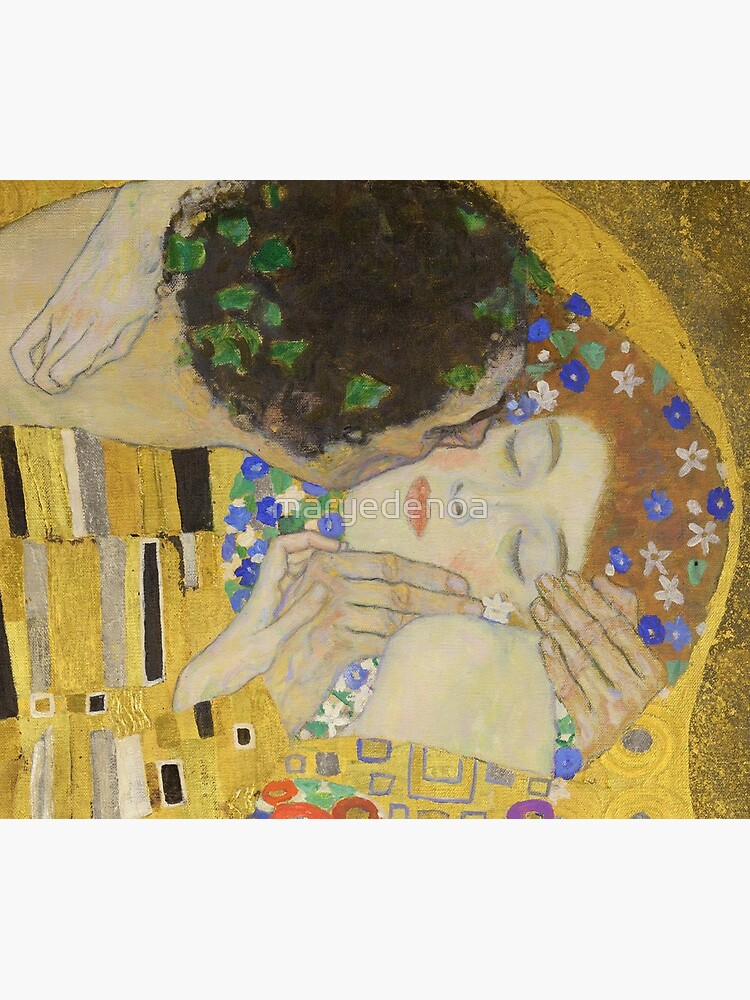The Kiss - Gustav Klimt by maryedenoa