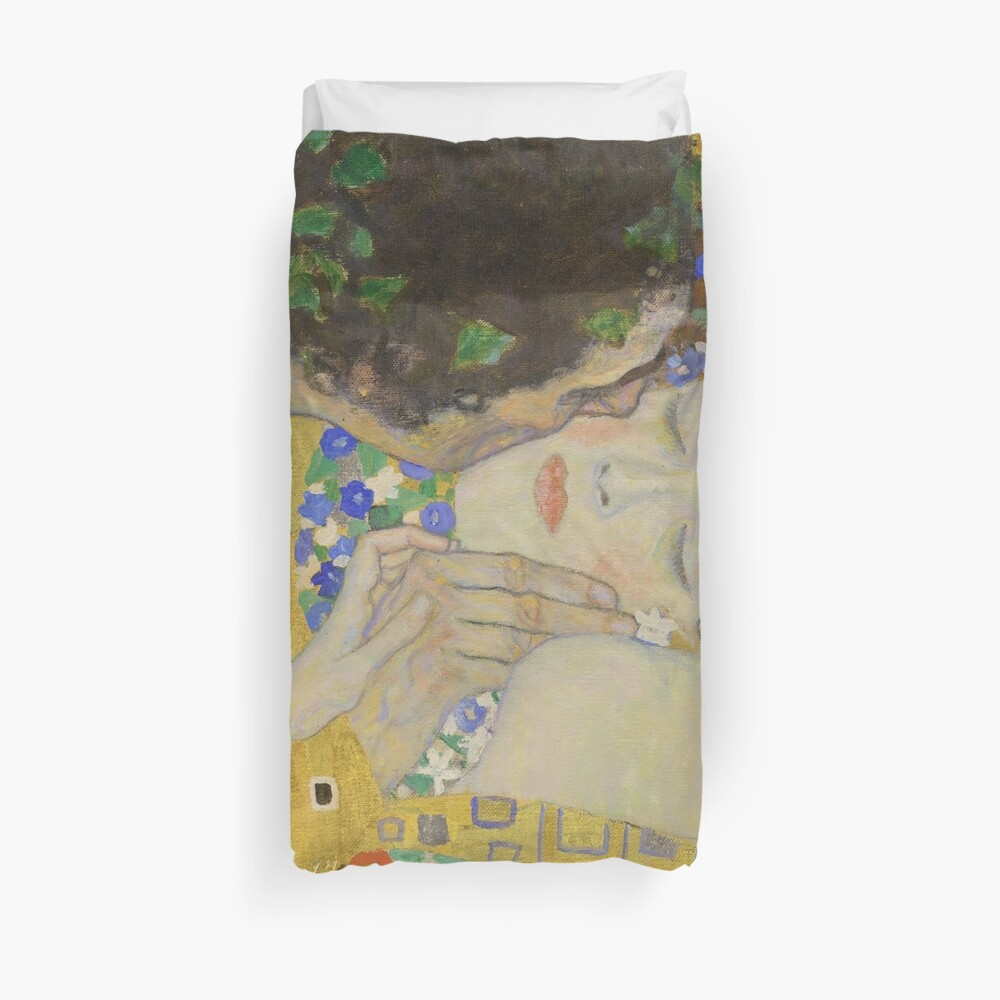 The Kiss - Gustav Klimt Duvet Cover