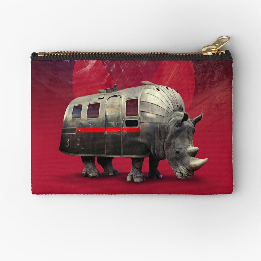 Rhino  Zipper Pouch