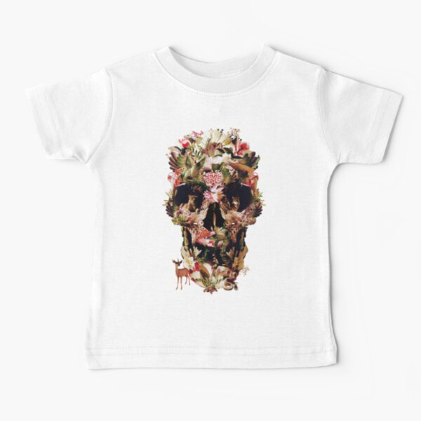 Jungle Skull Baby T-Shirt