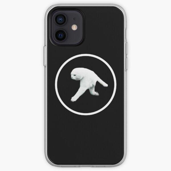Aphex Twin - Two legged cat (white logo) iPhone Soft Case
