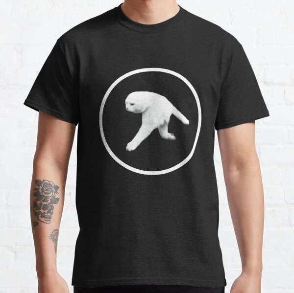 Aphex Twin - Two legged cat (white logo) Classic T-Shirt