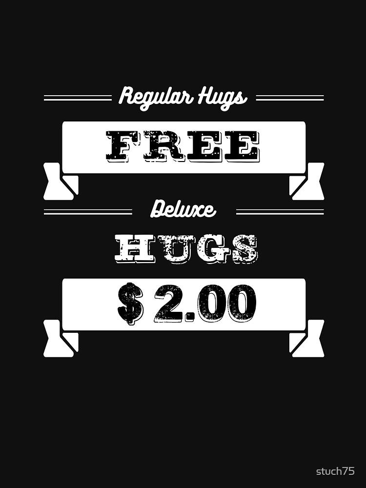 Regular Hugs Free.  De Luxe  Hugs $2.00 by stuch75