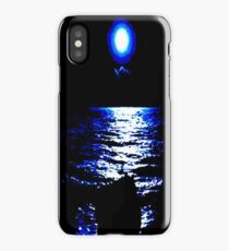 Moonlight sea iPhone Case