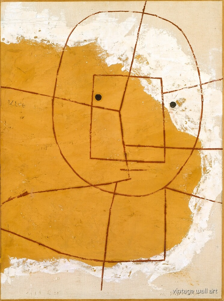 One Who Understands by Paul Klee, 1934 by fineearth