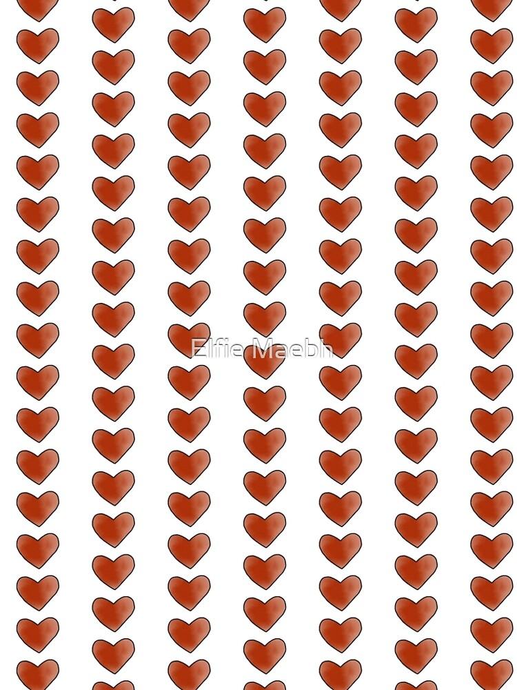 Red Heart  by elfiesdesigns